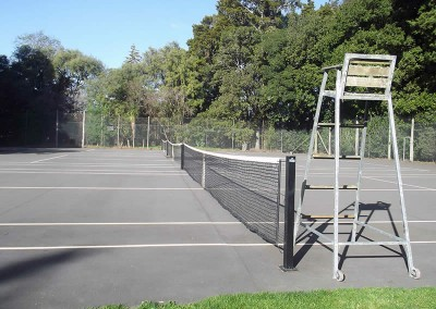 Tennis Courts at the Campground